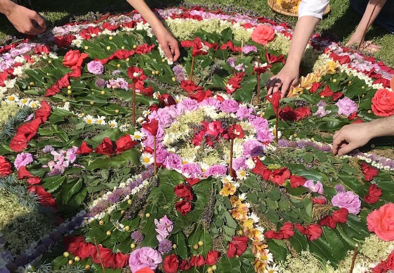 Mandala Végétal-centre Bouddhiste Cérences