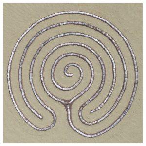 carte postal- labyrinthe