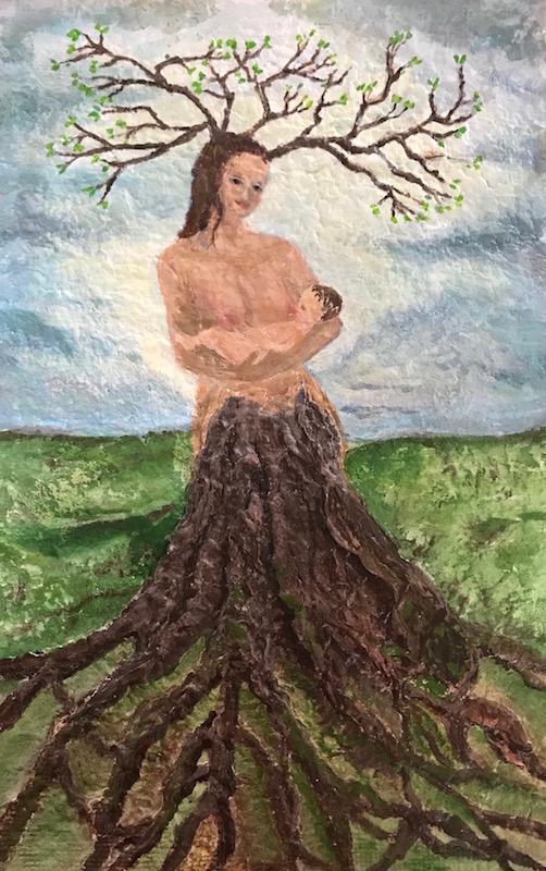 féminin sacré- utérus-