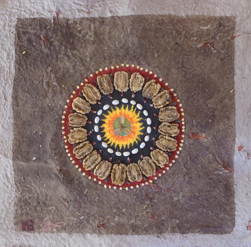 mandala- création graine- samhain