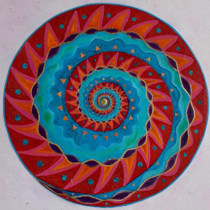 mandala-spirale- yin/yang-union sacrée-féminin masculin